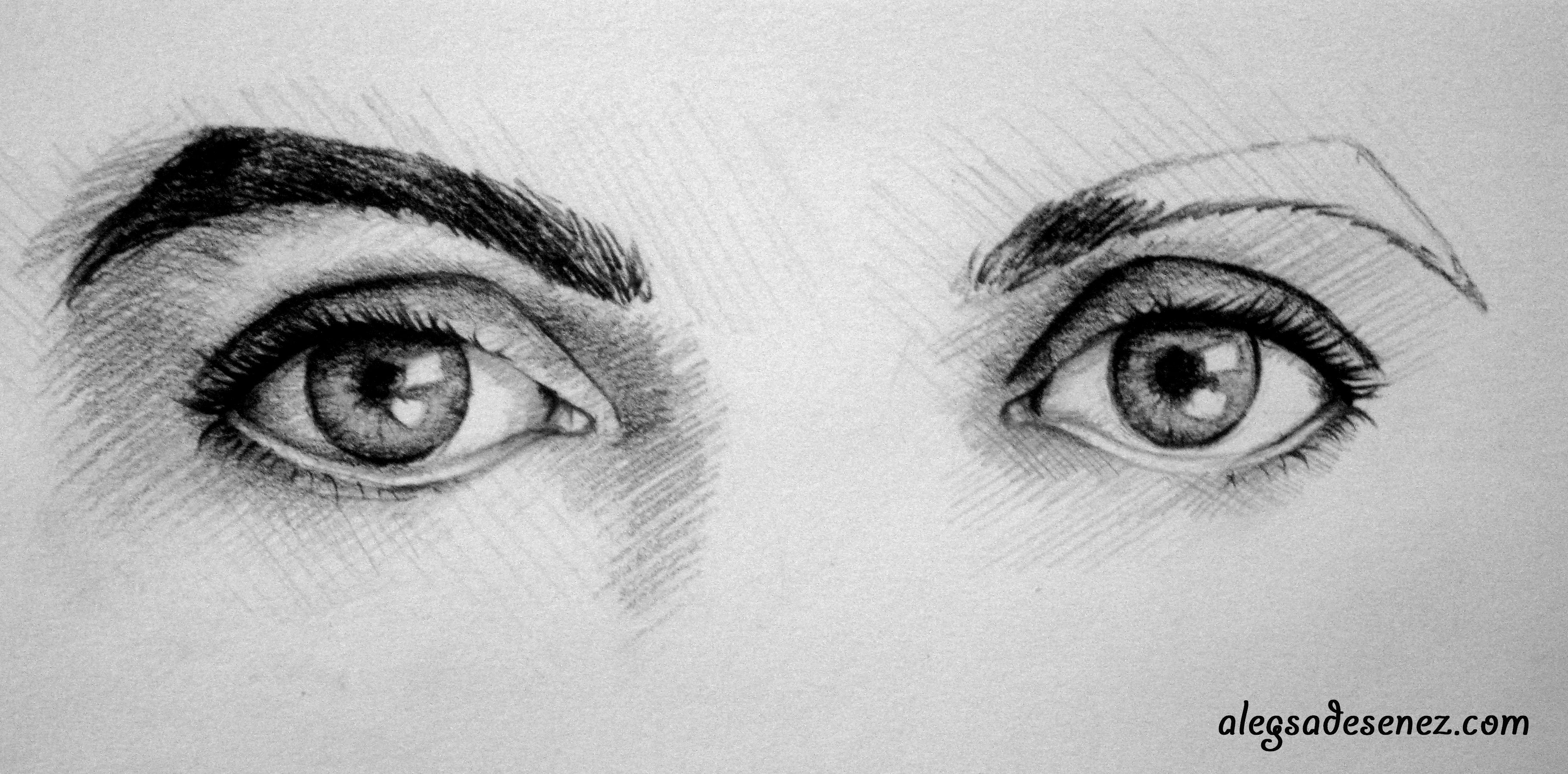 7 Pasi Cu Ajutorul Carora Sa Desenezi Ochii Aleg Sa Desenez