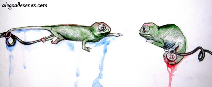 Intalnirea Cameleonilor – arta de a spune povesti prin desene