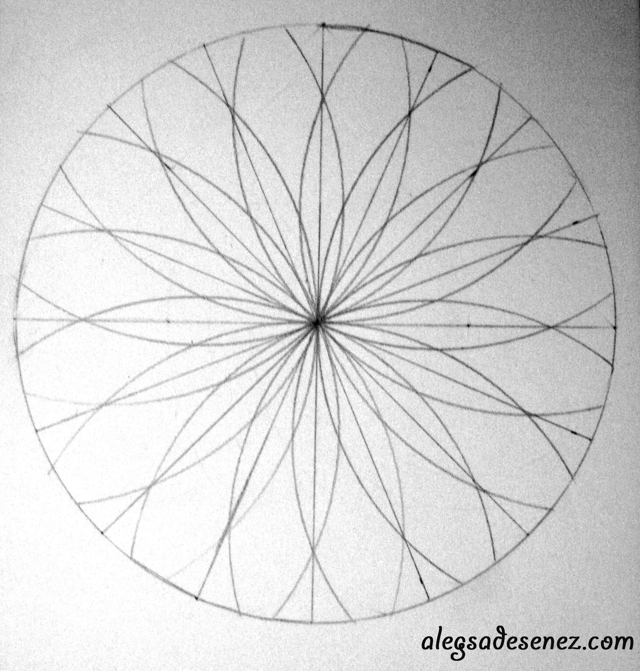 Arta Care Aduce Echilibrul Interior Mandala Aleg Sa Desenez