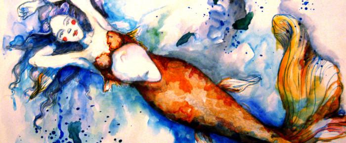 Cum o desenez pe Mica Sirena