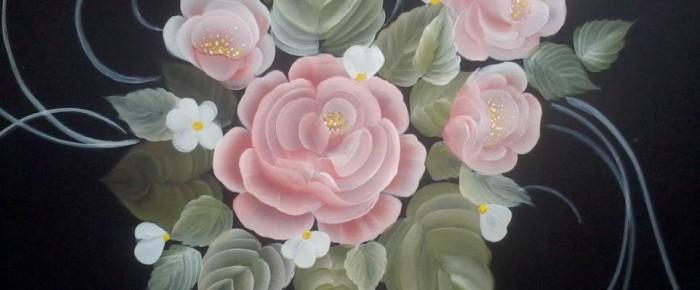 Introducere in pictura decorativa One Stroke