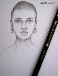 portretul in linii simple - final