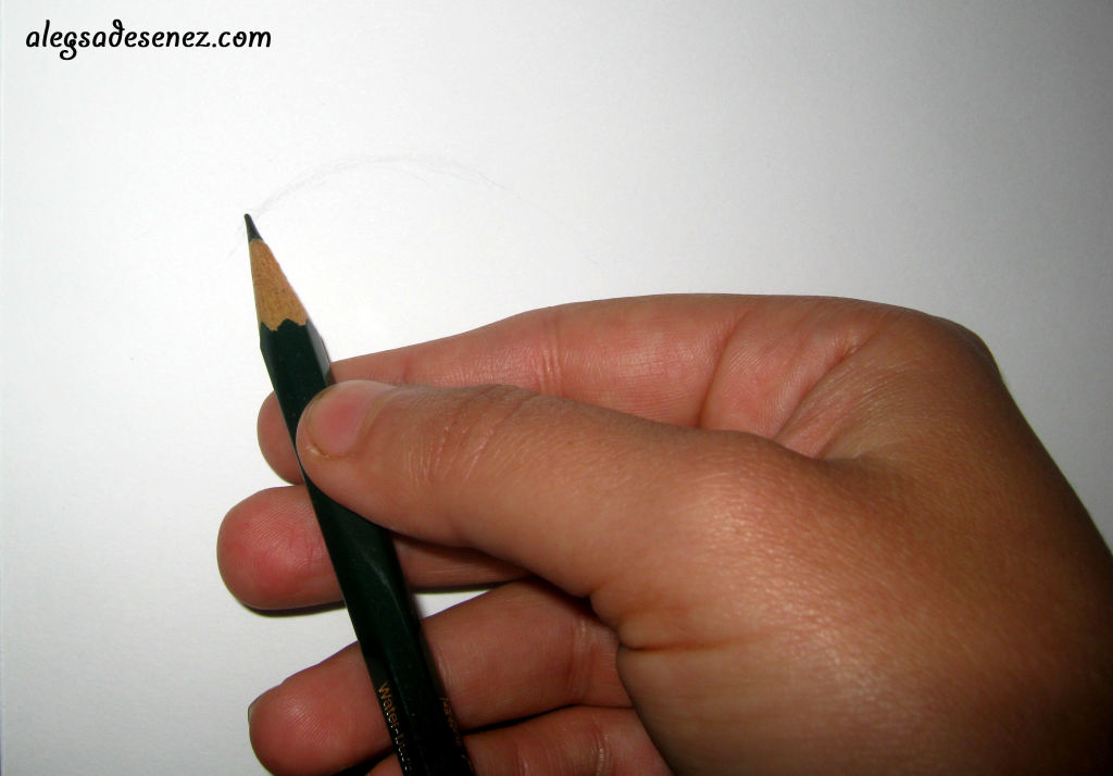 pozitia creionului