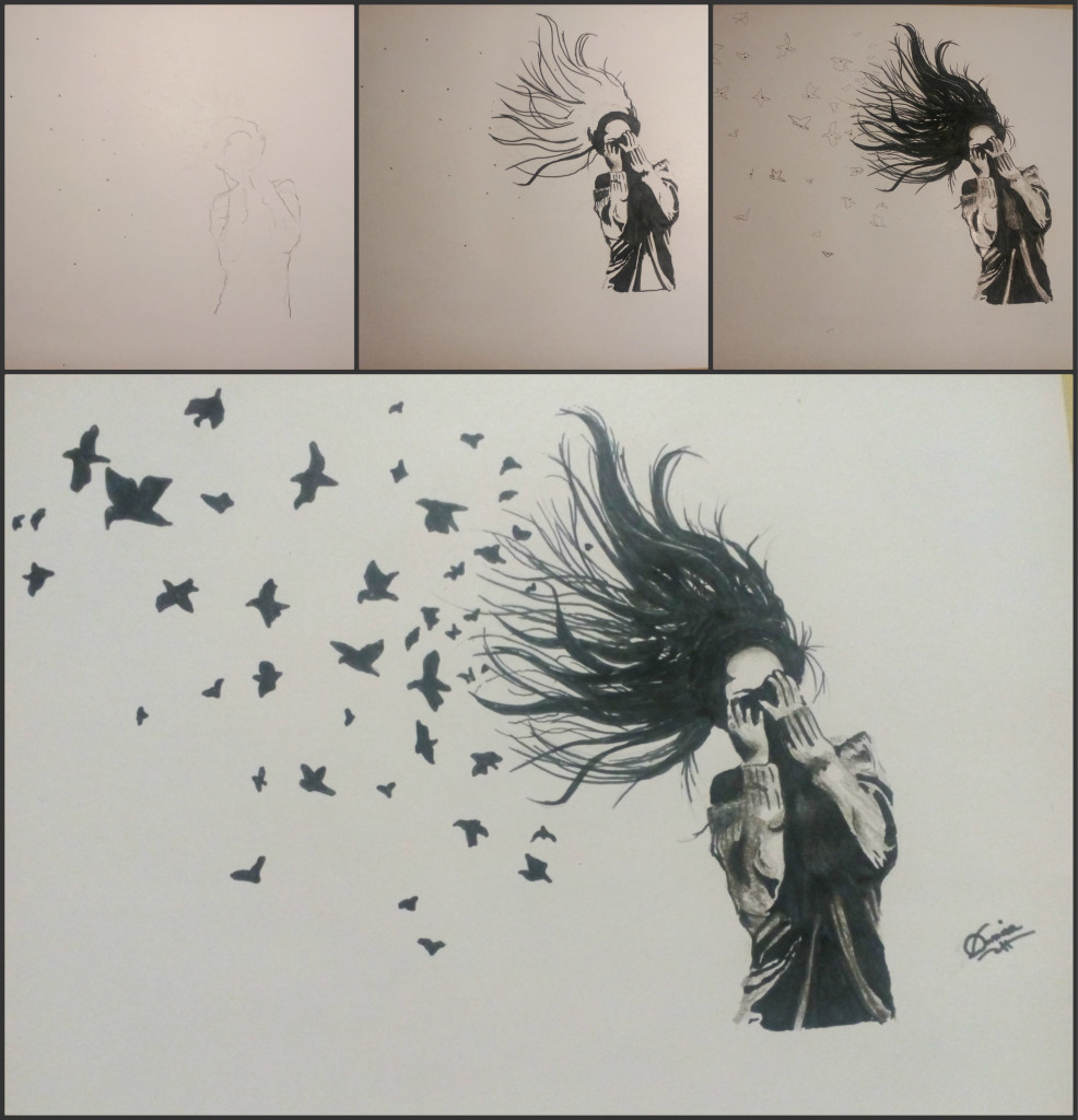 Collage Denisa Gherghiceanu