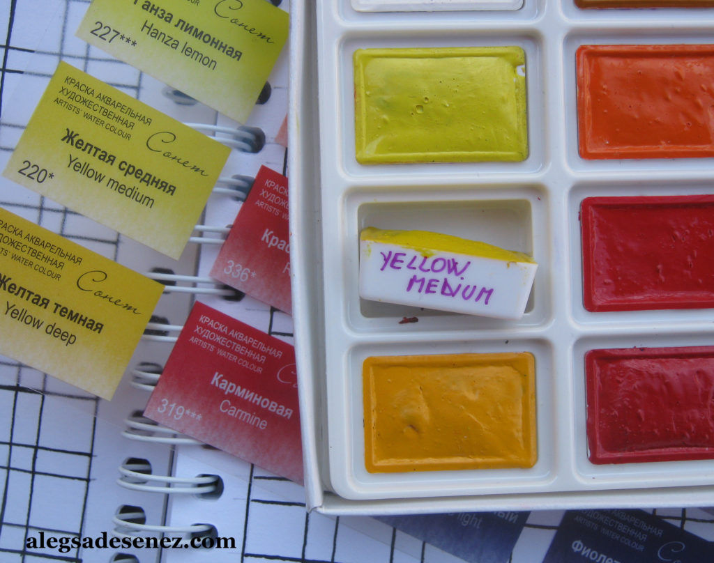 notare culori