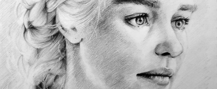 Cum desenezi parul blond (model: Khaleesi)