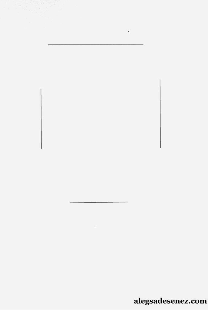 portret in linie modulata 1