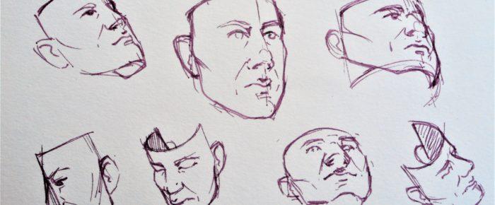 Cum inveti sa desenezi capul din orice pozitie iti doresti